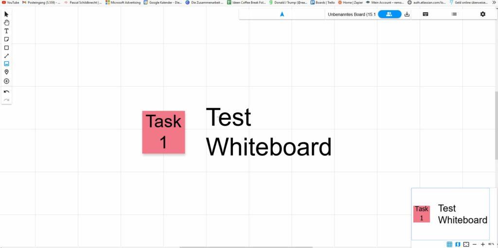 Whiteboard online Collaboard